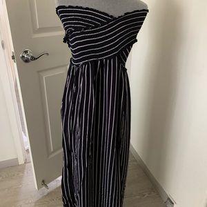 Maxi stripped dress